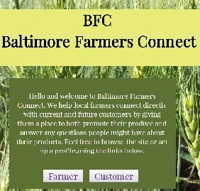 Baltimore Farmers Connect